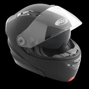 Kask motocyklowy ROCC 640 czarny matowy - 2848074348