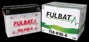 Akumulator FULBAT Y50N18L-A (suchy - kwas dołączony) - 2848074677