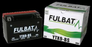 Akumulator FULBAT YTX9-BS (AGM, kwas dołączony) - 2848074886