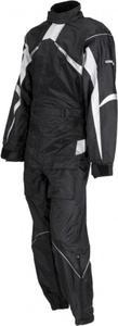Kombinezon przeciwdeszczowy Lookwell Hiker czarno biały - 2848075948