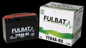 Akumulator FULBAT YTR4A-BS (AGM, kwas dołączony) - 2848076280