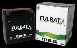 Akumulator FULBAT YTX16-BS (AGM, kwas dołączony) - 2848076583