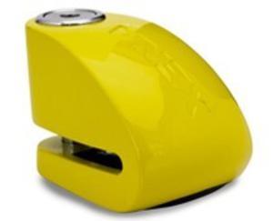 Blokada na tarczę z alarmem XX14 żółta - bolec 14mm - 2848077168