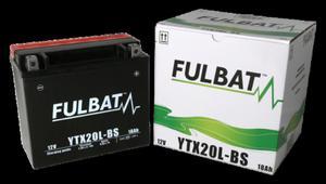 Akumulator FULBAT YTX20L-BS (AGM, kwas dołączony) - 2848077938
