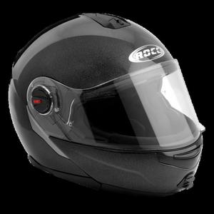 Kask motocyklowy ROCC 680 czarny połysk - 2848079588