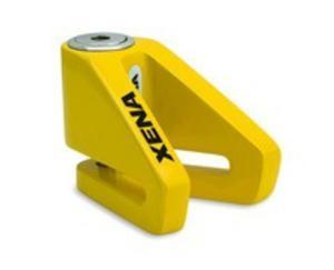 Blokada na tarczę bez alarmu X1-Y żółta - bolec 6 mm - 2848080033