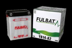 Akumulator FULBAT YB14-A2 (suchy) - 2848081548