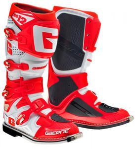 Buty motocyklowe GAERNE SG-12 czerwone - 2848083617