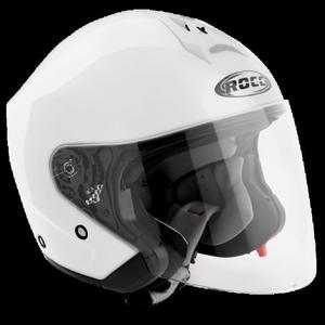 Kask motocyklowy ROCC 180 biały połysk - 2848085348