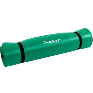 Zielona mata do ćwiczeń, masażu, jogi 190 x 100 cm
