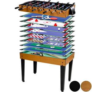 Multigra zestaw gier dla dzieci piłkarzyi bilard szach i wiele innych Mega 15w1 z akcesoriami - 2822828003