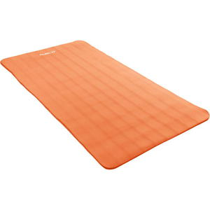 Pomarańczowa mata do ćwiczeń, jogi, masażu 190 x 60 cm MOVIT