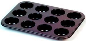 Forma do pieczenia Muffinek babeczek stalowa Tadar - 2822831549