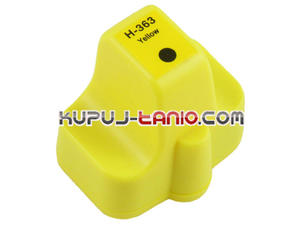 HP 363 Y tusz do HP 8250, HP C5180, HP C7280, HP C6180, HP 3310, HP 3210, HP C6280, HP 3100, HP...