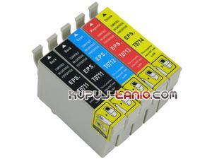 .T0715 / T0895 tusze Epson (5 szt Unink) tusze do Epson SX215, Epson SX218, Epson SX100, Epson SX105, Epson SX115, Epson SX405, Epson SX415 - 2825616099
