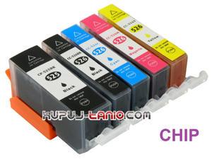 .PGI-525BK - CLI-526 tusze do Canon (5 szt z chipami, BT) tusze do Canon MG5350, MG5250, MG5150, iP4850, iP4950, MG6150, MG6250 - 2825616250