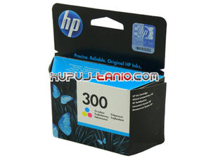 HP 300 kolorowy oryginalny tusz do HP Deskjet F2480, HP Deskjet F4210, HP Deskjet F4200, HP Deskjet F4580, HP ENVY 110, HP Deskjet F2420 - 2825616295