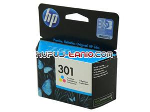 HP 301 kolor oryginalny tusz do HP Deskjet 1050, HP Deskjet 1000, HP Deskjet 1510, HP Deskjet 2510, HP Deskjet 2540 HP Deskjet 2050 - 2825616307