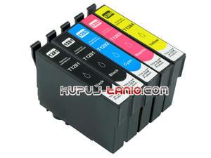 .T1285 tusze do Epson (5 szt., Unink) tusze Epson S22, Epson SX235W, Epson SX130, Epson SX125, Epson SX230, Epson SX420W, Epson SX425W - 2825616425