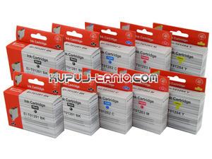 .T1286 tusze do Epson (10 szt., Crystal-Ink) tusze Epson SX435W, Epson SX440W, Epson SX445W, Epson BX305F, Epson BX305FW, Epson SX430W - 2825616550