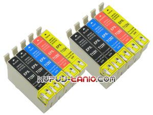 .T1296 tusze do Epson (10 szt., Crystal-Ink) tusze Epson BX635FWD, Epson BX525WD, Epson BX535WD, Epson BX320FW, Epson BX625FWD, Epson BX305F - 2825616586
