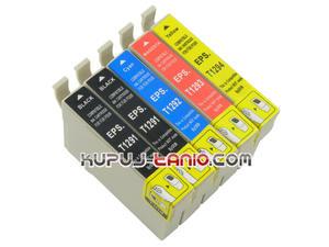 .T1295 tusze do Epson (5 szt., Crystal-Ink) tusze Epson BX305F, Epson BX635FWD, Epson BX525WD, Epson BX535WD, Epson BX320FW, Epson BX625FWD - 2825616594