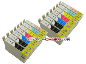 .T0807 tusze do Epson (14 szt., BT) tusze Epson R285, Epson R360, Epson RX560, Epson RX585, Epson PX700W, Epson RX685, Epson P50, Epson R265 - 2825616595
