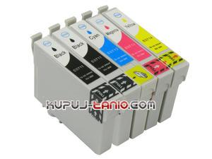 .T0715 / T0895 tusze Epson (5 szt BT) tusze do Epson SX218, Epson SX215, Epson SX100, Epson SX105, Epson SX115, Epson SX405, Epson SX415, Epson DX4450 - 2825617147