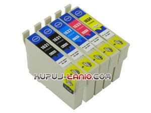 .T1635 = 16XL Epson tusze (5 szt., BT) tusze Epson WF-2510WF, Epson WF-2540WF, Epson WF-2660DWF, Epson WF-2010W, Epson WF-2520NF, Epson WF-2530WF - 2825617182