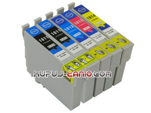 .T1815 = 18XL Epson tusze (5 szt., BT) tusze Epson XP-205, Epson XP-215, Epson XP-305, Epson XP-202, Epson XP-102, Epson XP-312, Epson XP-405 - 2825617263