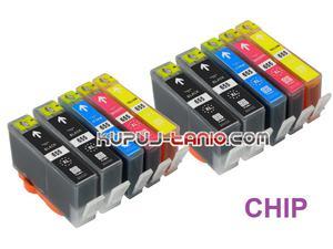 .HP 655XL (10 szt. z chipami) tusze do HP Deskjet Ink Advantage 5525, HP Deskjet Ink Advantage 3525, HP Deskjet Ink Advantage 4615 - 2825617586