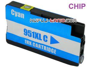 HP 951XL C niebieski tusz (BT) tusz do HP Officejet Pro 8100, HP Officejet Pro 8610, HP Officejet Pro 8620, HP Officejet Pro 8600 - 2825617883