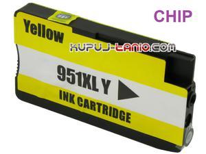 HP 951XL Y żółty tusz (BT) tusz do HP Officejet Pro 8620, HP Officejet Pro 8600, HP Officejet Pro 8100, HP Officejet Pro 8610 - 2825617891