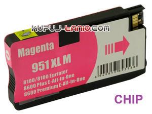 HP 951XL M czerwony tusz (Crystal) tusz HP Officejet Pro 8610, HP Officejet Pro 8620, HP Officejet Pro 8600, HP Officejet Pro 8100 - 2825617923