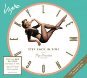 KYLIE MINOGUE 3CD STEP BACK IN TIME. THE DEFINITIVE COLLECTION - 2890558570