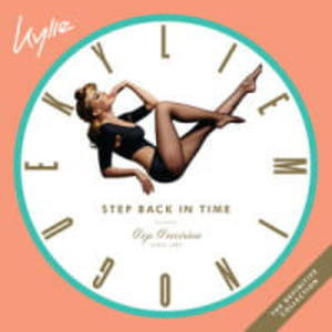 KYLIE MINOGUE 2CD STEP BACK IN TIME THE DEFINITIVE COLLECTION