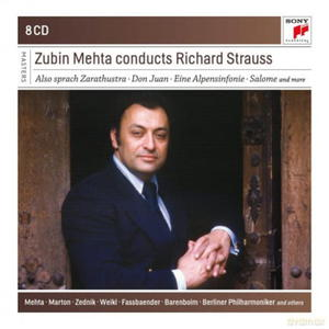 ZUBIN MEHTA ZUBIN MEHTA CONDUCTS RICHARD STRAUSS CD - 2860156291