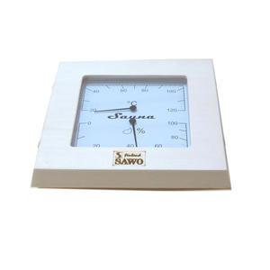 Termo-Higrometr - osika 225-THA Termometr z higrometrem do sauny drewno osika 225-THA - 2832613496