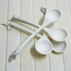 Chochla do sauny - Standard - 40 cm Chochla, łyżka do sauny osika 40 cm