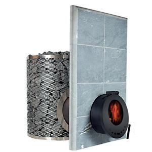 Piec opalany drewnem do sauny SL IKI - szklane drzwi - 2879656500