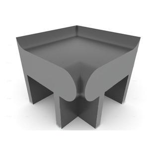 Ława do łaźni parowej BASIC - narożnik wewnętrzny prosty Ława do łaźni BASIC - narożnik wewnętrzny...