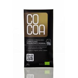 Czekolada Cappucino Migdałowe Z Morwą Bio50G-Cocoa - 2829357236