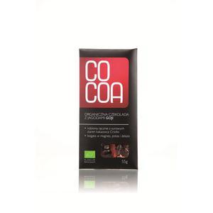 Czekolada Z Jagodami Goji Bio 50 G-Cocoa - 2829357239