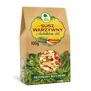 Susz Warzywny Z Dodatkiem Ziół 100 G Dary Natury - 2829356888