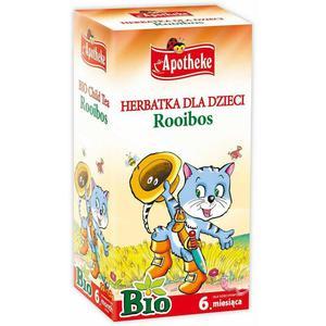 Herbatka Dla Dzieci Rooibos Bio 20X1,5 G -Apotheke - 2829357535