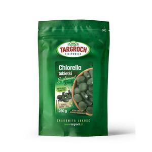 Chlorella w tabletkach 250 g Targroch - tabletki 1000 x 250 mg - 2876114549