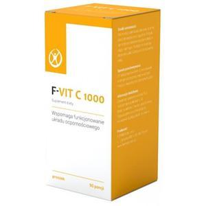 F-VIT C 1000 Witamina C z Fermentacji bez GMO 90 porcji Kwas L-askorbinowy - Formeds - 2829359903