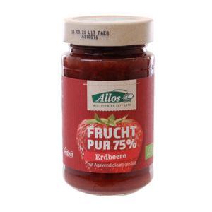 Mus Truskawkowy (75% Owoców) Bio 250 G - Allos - 2876115544