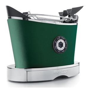 Casa Bugatti - Toster VOLO pokryty skórą - zielony - 2829158655