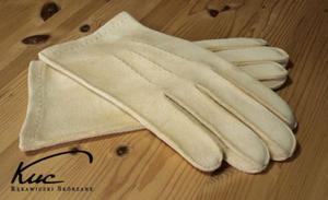 Klasyczne, męskie rękawiczki irchowe - rękawiczki z irchy - 2824938944